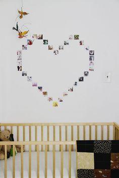 Instagram picture heart display