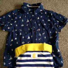 One of Logan's gone sailing outfits