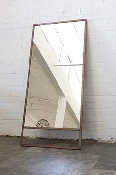 #mirror #spejl #metal #måskediy #soveværelse