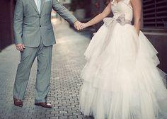 A origem do vestido de noiva