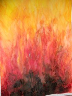 Image result for pittura steineriana