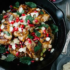 Fragrant, sticky, sweet and tangy, this Rosewater Chicken is budget friendly and great for feeding a crowd.