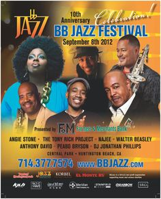 BB Jazz Festival 2012, Central Park, Huntington Beach, CA, September 8, 2012
