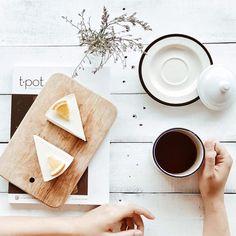 The Yogurt cake  #vanillabutter #dailyfresh #yogurtcake