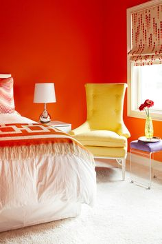 ML Interior Design| Love the color or too bold for your bedroom?