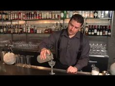 How to Serve a Martini - Raising the Bar with Jamie Boudreau