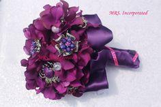www.mrseventplanner.com Purple Brooch Bouquet, Wedding Ideas, Jewelry, Fashion, Jewellery Making, Moda, Jewerly, Jewelery, Fashion Styles