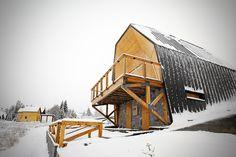 4of7 architecture kopaonik mountain home serbia designboom