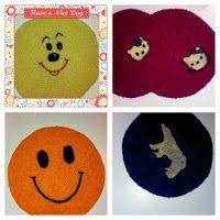Pattern: Start with a magic loop. Magic Loop, Anna, Kids Rugs, Drawing, Knitting, Pattern, Cards, Art, Kid Friendly Rugs