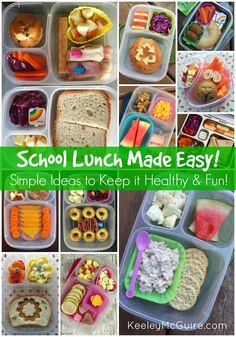 Back-to-School Gluten Free #glutenfree #backtoschool #glutenfreelunch #glutenfreemealplans #glutenFreebreakfast