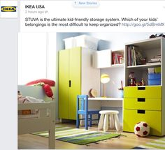 Bedroom idea from IKEA