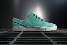 Nike SB 2013 Spring/Summer Zoom Stefan Janoski Crystal Mint
