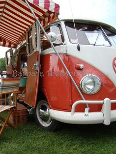 Vintage Volkswagon Van.