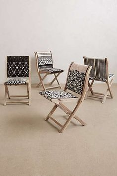 Anthropologie - Terai Folding Chair