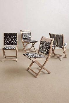 Anthropologie - Terai Folding Chair