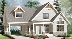 Discover the plan - Celeste 2 from the Drummond House Plans house collection. 2 to 4 bedroom country cottage house plan, carport, 2 living rooms, mezzanine, unfinished bonus room.