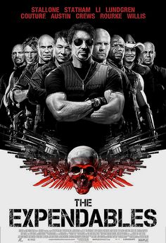 The Expendables 1 and 2 are great action movies with a bunch of old famous actors. However, the plot line is so so and not the more intriguing. I give them a 7.5