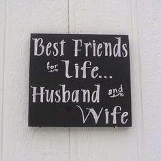 """""""Best Friends for Life""""    #Husband & #Wife          #TeamMarriage"""