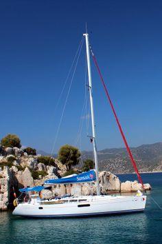Tersane Bay near #Kekova Island in #Turkey #Sailing