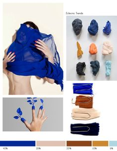 Color-Inspiration-No.7 by Eclectic Trends Interesting news: The world's newest shade of blue, a brilliantly bright, durable pigment called YInMn blue, has been licensed for commercial use. And it has been discovered by accident!