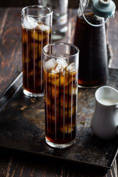 Cold brew is the secret to making strong coffee with notes of caramel that will pair perfectly with a touch of your favorite vodka. Click through for more coffee cocktail recipes.