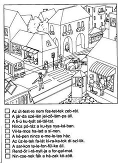 NÉMA ÉRTŐ OLVASÁS FELADATLAPOK 1. OSZTÁLY - tanitoikincseim.lapunk.hu Dysgraphia, Home Learning, Special Education, Grammar, Literature, Kindergarten, Activities, Writing, Reading