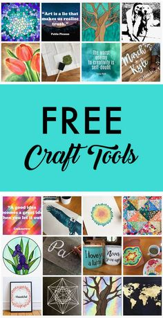 Free arts and crafts tool to help you make beautiful art Stuff For Free, Free Stuff By Mail, Free Mail, Crafts To Make And Sell, New Crafts, Arts And Crafts, Art And Craft Design, Design Crafts, Making Ideas
