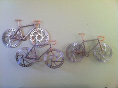 Custom Made Bike Art by TheBikeFund on Etsy, $250.00