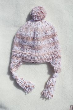 Multi Coloured White and Brown Retro Boys Hat - The Muddy Puddle Hat