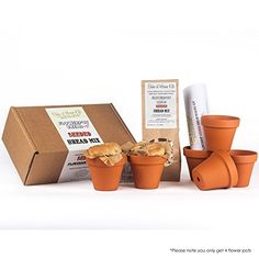 Flowerpot Bread Making Kit Christmas Xmas Holiday Present * Check this awesome product by going to the link at the image.