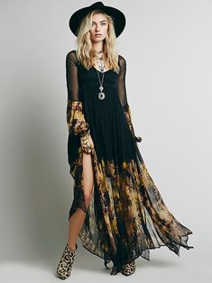 Free People Dazed Dream Maxi Dress