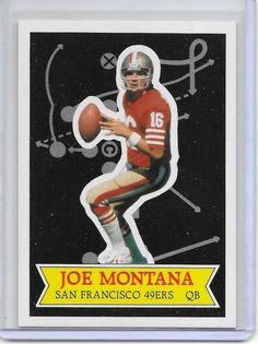 8add94b955e 1984 Topps Glossy Send-In  13 Joe Montana San Francisco 49ers Football Card