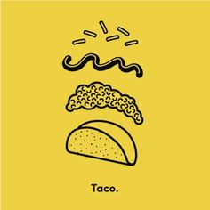 Taco Puzzle - Rachel Peck from Society6