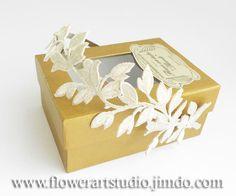 Ivory Bridal Fascinator Vintage Style Feminine by Flowerartstudio