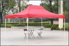 Outdoor Canopy Shelter Gazebo 10x15 Red Patio Backyard Shade Steel Fabric US $178.91#OutdoorCanopyShelterGazebo