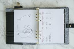 create a printable planner instead of buying multiple notebooks.  more flexible for adding/removing pages.