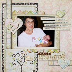 really cute for a baby book - describing each person in their lives