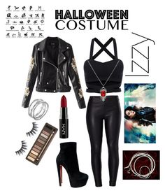 """Shadowhunter-Izzy"" by lilmess on Polyvore featuring Mode, Venus, Christian Louboutin, Links of London, NYX und Urban Decay"