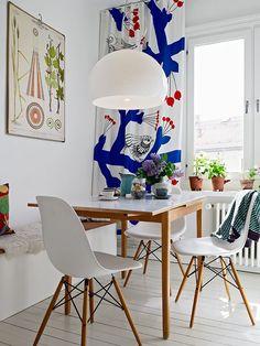 Hübsche Farbakzente Im Skandinavischen Heim Schöner Wohnen Küchen,  Dänisches Design, Skandinavisch Wohnen, Skandinavisches