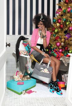 my 2 favorite things (well 2 OF my faves at least): Kate Spade and Christmas Christmas Love, Christmas Shopping, Merry Christmas, Xmas, Christmas Crafts, Christmas Decorations, Christmas Editorial, Monday Inspiration, Design Inspiration