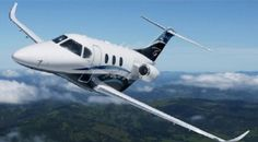 """Hawker Beechcraft's innovative all-composite light jet, the Premier I, was actually the first business jet developed from the ground up by Raytheon. The design of this aircraft has some """"wow"""" factor due to the amazingly strong composite fuselage which was designed with CATIA Computer-Aided Design technology. The large cabins of these corporate charter jets feature cushy seats that slide, swivel/recline for maximum comfort. The Premier I accommodates a crew of one or two and 6 or 7…"""