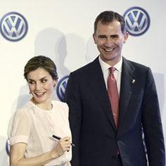 Spanish Royals visit VW factory in Navarre (302881)