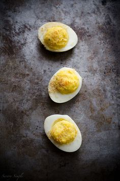 Boursin Deviled Eggs - Low Carb - Savory Simple
