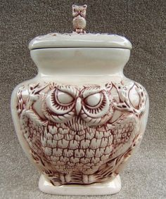 1000 Images About Owl Cookie Jars On Pinterest Owl