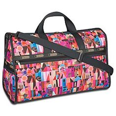 Disney ''it's a small world'' by LeSportsac - Weekender Bag  I LOVE THIS!!