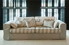 Rivièra Maison Official Online Store ® - furniture | Sofas & Armchairs | 3.5-Seater Sofas | Sofa Je Ne Sais Quoi 3,5s Flaxiv