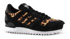 Adidas ZX 700 met leopard print sneakers