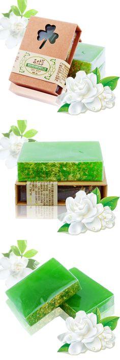 [Visit to Buy] 100g Best Selling Feminine Soap Natural Jasmine Handmade Soap Cold Process Homemade Soap Freckle Moisturiz Emollient Cleansing #Advertisement