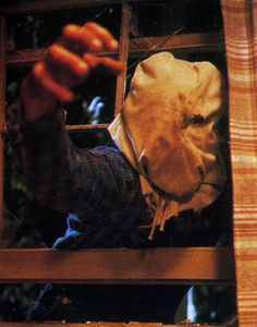 Jason Voorhees from Friday the 13th Part 2 (1981) it's awesome when he throws his victims through the window