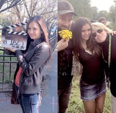 TVD Nina on her first day and last